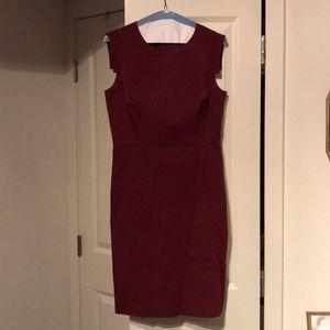 J. Crew Factory Red Dress